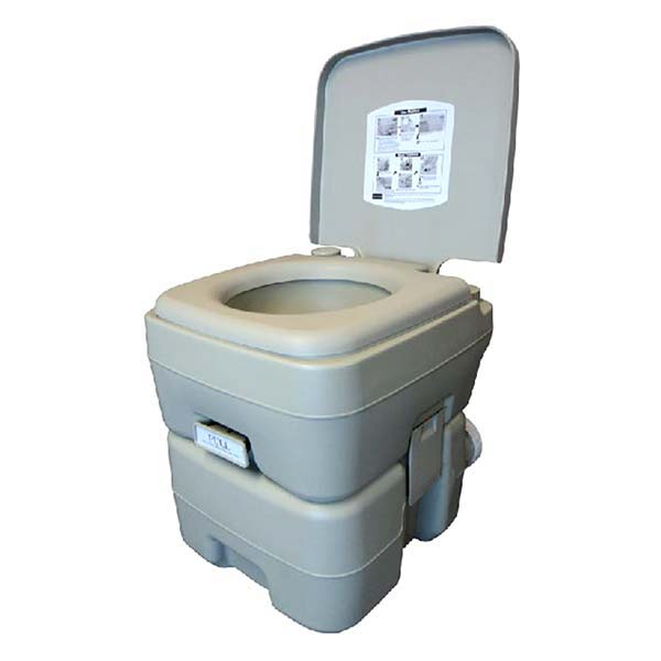 Canister Style Chemical Toilet