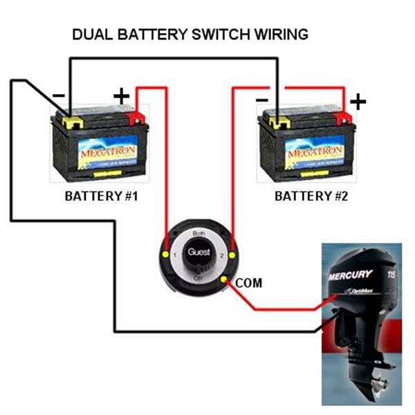 Dual Battery System Upgrade Thru Volvo Penta Battery Control Module
