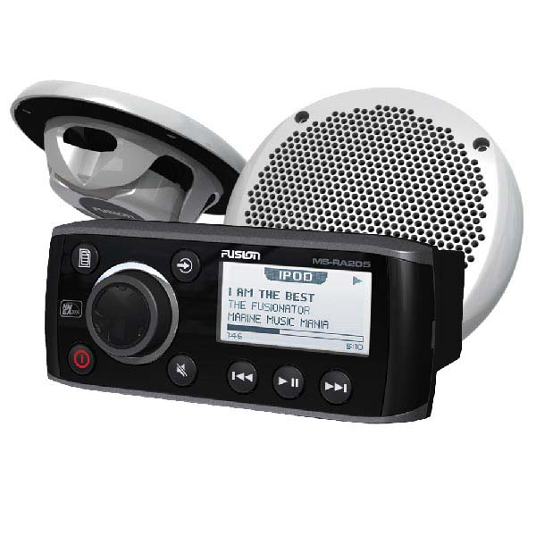 Fusion Stereo With 2 Rear Speakers