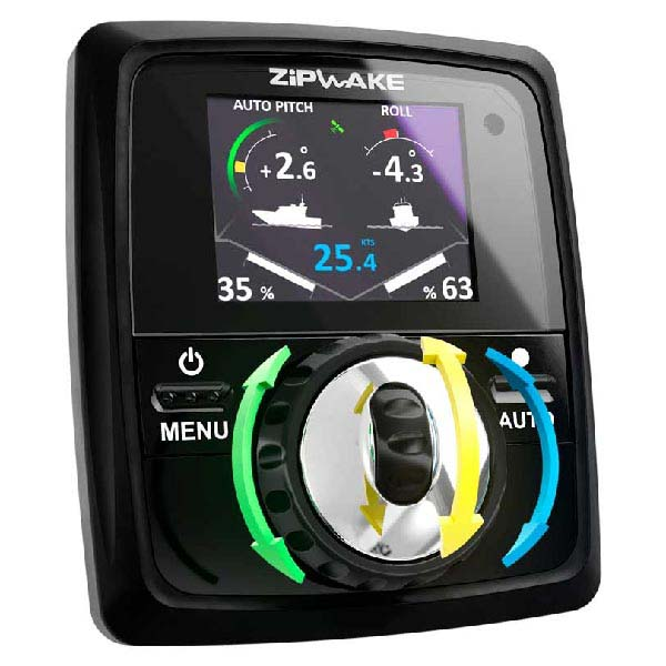 Zip Wake Trim Tab System (Including Auto Trim Tab Option)