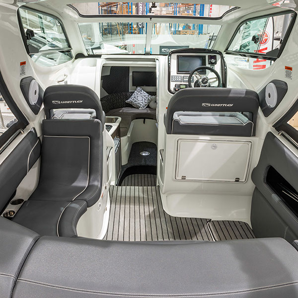 SPORTS INTERIOR REAR CABIN