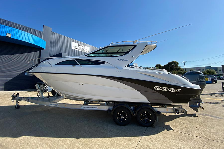 legally trailerable cr 2600 ob outboard