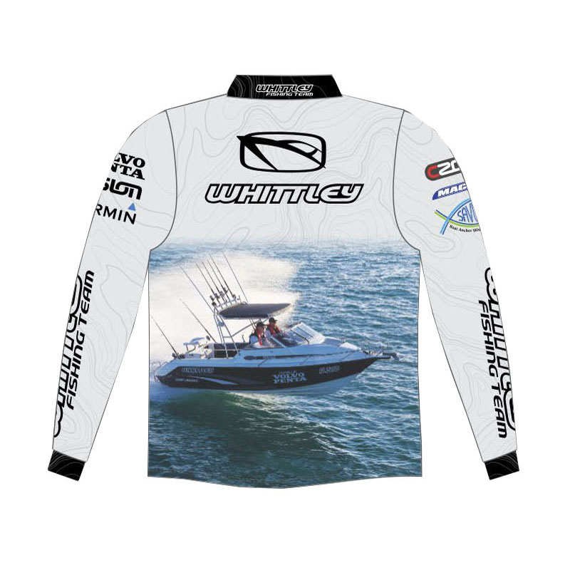 Whittley Team Fishing Shirts